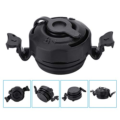 Vbestlife Inflated Valve Cap, Durable 3 in 1 Air Valve Secure Seal Cap for Intex Inflatable Airbed Mattress Black, Sturdy and Anti-corrosion (Mach Cap)