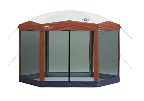 Coleman Screened Canopy Tent for Camping|Instant Outdoor Canopy Tent and Sun Shelter with 1-min Set-up, 12x10