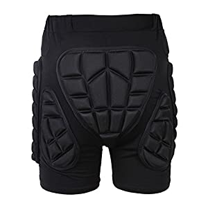 3D Padded Shorts Impact Protection Hip Butt Underwear Pad for Snowboard Skating Volleyball Motocross Cycling