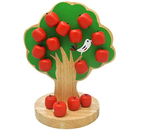 Magnetic Apple Tree Preschool Toys for Age 3-10 Educational Toy