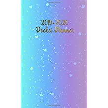 2019-2020 Pocket Planner: Two-Year Monthly Holo Pocket Planner with Phone Book, Password Log and Notebook. Cute 24 Month Holographic Planner and Organizer.