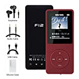 MP3 Player, HiFi Lossless Music Player, Up to 70 Hours Lossless Playback, Built-in