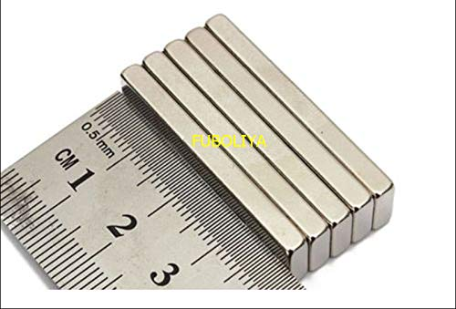 (FidgetFidget New N52 Strong Block Bar Fridge Magnets 40x10x4mm Rare Earth Neodymium #M289 F88 10PCS)