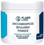 Klaire Labs Pure Saccharomyces boulardii Powder - 9 Billion CFU Powerful Shelf-Stable Yeast Probiotic for Kids, Men & Women, Hypoallergenic & Non-Dairy (180 G / 300 Servings)