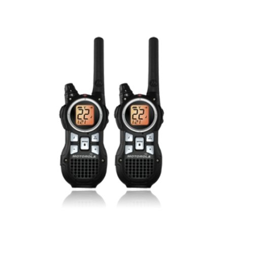 Motorola MR350R 35-Mile Range 22-Channel FRS/GMRS Two-Way Radio (Pair), Outdoor Stuffs