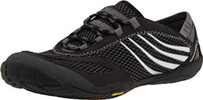 Merrell Women's Barefoot Pace Glove,Black,5 W US