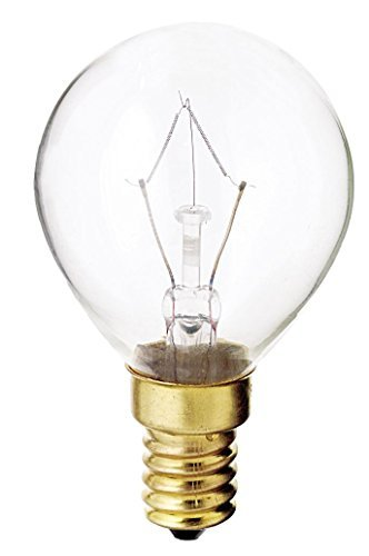 Satco 40G14 Incandescent Globe Light, 40W E14 G14, Clear Bulb [Pack of 24]