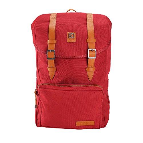 KUTS - Bolso mochila  para mujer rojo
