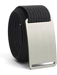 Men's Belt Classic Series, Adjustable Nylon Webbing Strap w/Aluminium Buckle