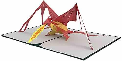 Lovepop Dragon Pop Up Card