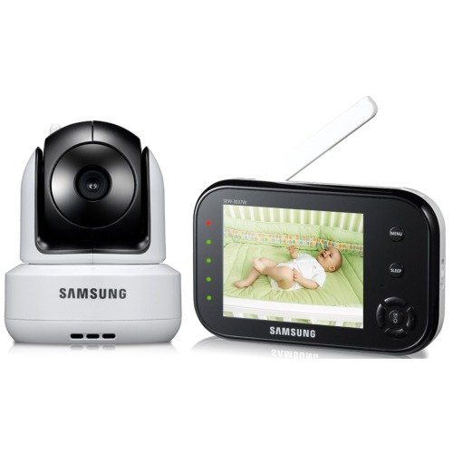 baby products samsung sew 3037w wireless pan tilt video baby monitor infrared night vision and. Black Bedroom Furniture Sets. Home Design Ideas