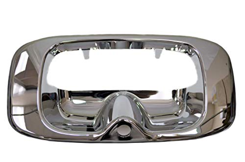 PT Auto Warehouse GM-3523M-BZC - Tailgate Handle Bezel, plastic Chrome - with Camera Hole ()