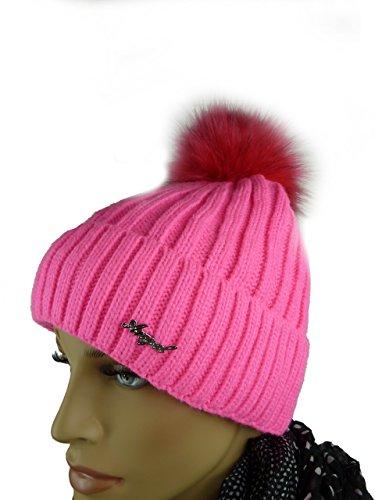 pink Básico pink hombre Gorro punto TA de New para IFqF8xZ