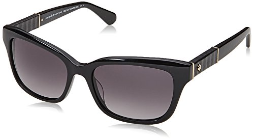 Kate Spade New York Women's Johanna 2/S Black/Dark Grey Gradient One - Kate Spade Sunglasses Black