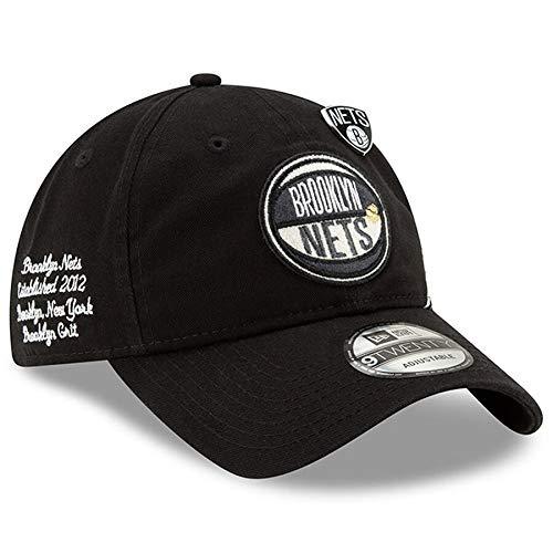 New Era Men's Brooklyn Nets Black 2019 NBA Draft 9TWENTY Adjustable Hat ()
