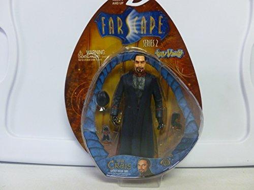 Toy Vault Farscape Series 2 Captain Bialar Crais Figure (Toy Mcfarlane Spawn Series 1)