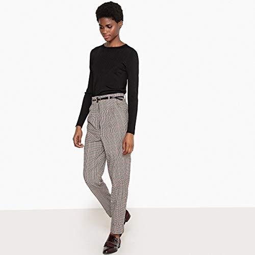 Quadri Redoute Vita Pantaloni Collections La Alta Beige Quadri Donna A RqXwSw