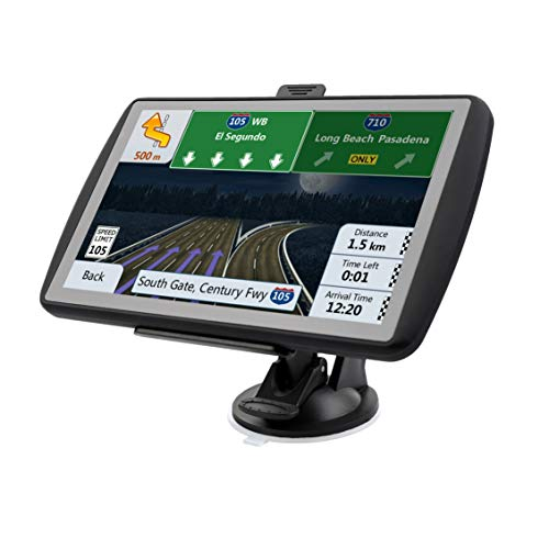 Car Navigation System, LONGRUF 500CD 7 inch HD Touch Screen&256MB-8GB Real  Voice Broadcast Navigation Syetem with Lifetime Map Free Update