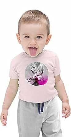 Australian Model Rapper Circle Portrait Organic Baby T-shirt 12 - 18 Months