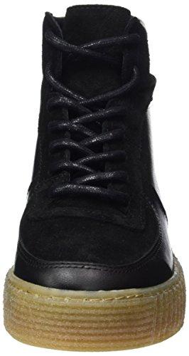Femme Leather Black Pieces Montantes Sneaker Pspaloma Baskets vqTSfF