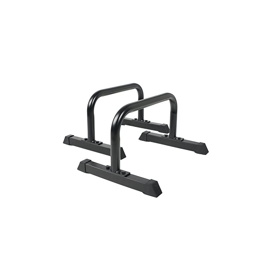 Ultimate Body Press Parallettes XL Push Up Stands 12x24 inch
