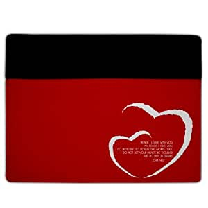 iPad 2 & 3 Cover - Christian Theme - John 14:27 - Protective Leather and Suede Case