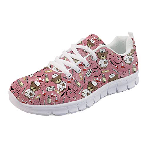 Nurse Cute Idea Hugs 5 Donna Scarpe Da Corsa z1w6Tv