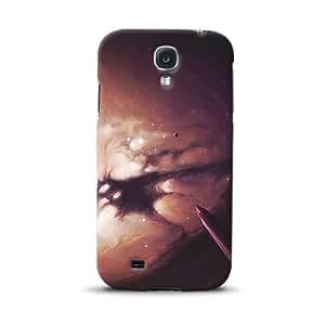 Diabloskinz Evening D0098-0024-0003 - Carcasa para Samsung Galaxy S4, diseño de estrellas
