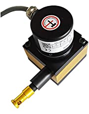 CALT 500mm Measure Range 0-5Kohm Draw Wire Potentiometer linear Sensor with Small Body Size