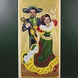 FIESTA Photo Op DOOR BANNER/MEXICAN PARTY Decor/CINCO de Mayo/DECORATION 6' X 3'