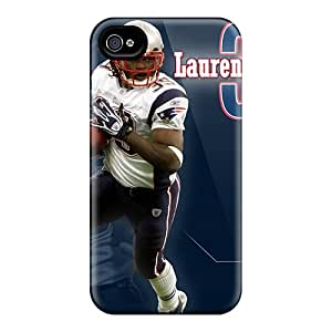 Fashion Tpu Case For Iphone 4/4s- New England Patriots Defender Case Cover