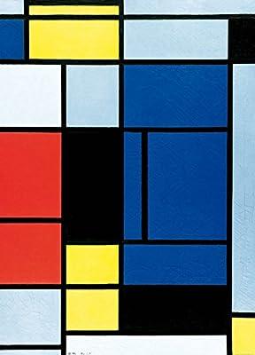 Amazon.com: Piet Mondrian Poster Photo Wallpaper - Tableau No. I, 1921-1925, 2 Parts (98 x 71 inches): Kitchen & Dining