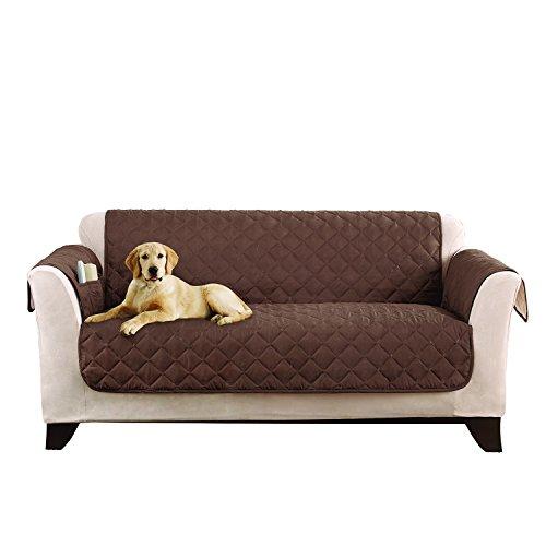 SureFit Microfiber Furniture Friend  - Loveseat Slipcover  - Chocolate (SF44958)