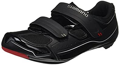 Shimano 2017 Men's All-Around Sport Road Cycling Shoes - SH-R065 (Black - 40)