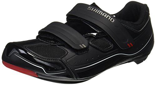 Black Road Adults' Black Unisex Biking Shoes Shimano R065 x0FqZtnpwR