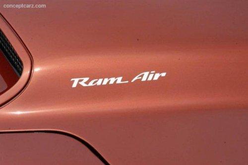 Pontiac Ram Air Hood Decals for Firebird , Trans Am, WS6, Formula (Chrome)