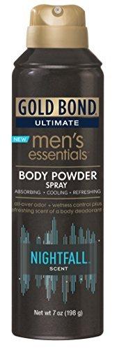 Gold Bond Ultimate men's essentials body powder spray by Gold Bond