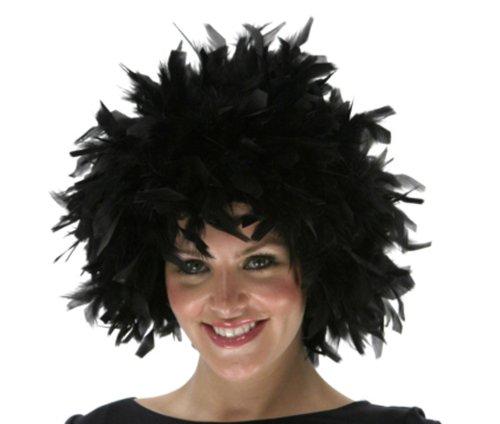 Zucker Feather (TM) - Chandelle Feather Wig - Solid - Black -