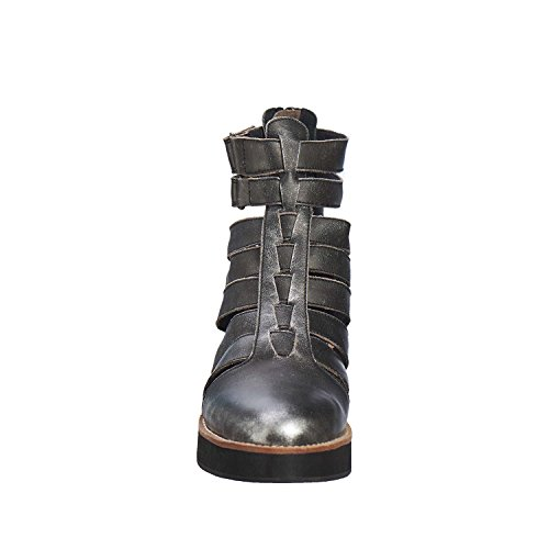 Women's Boots 288 Silver Leather Ankle Antelope f7qaw