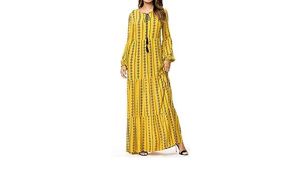 OTW Womens Ramadan Middle East Islamic Muslim Sequins Arab Maxi Dress
