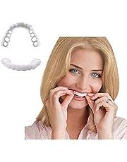 Nep tanden fineer Snap op glimlach tanden comfortabel fineer boven- en onderkant Comfort Fit voor Snap on Instant en vertrouwen glimlach
