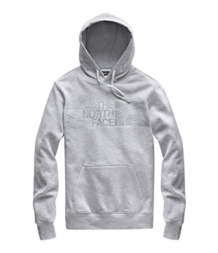 The North Face Men's Edge to Edge Pullover Hoodie, TNF Light Grey Heather/Asphalt Grey, Size XL