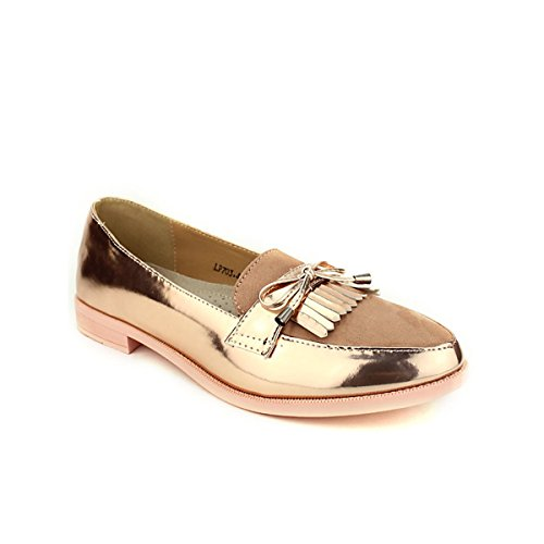 Chaussures Derbies Rose OMODA Pink Cendriyon Mode Femme gB1WUqS