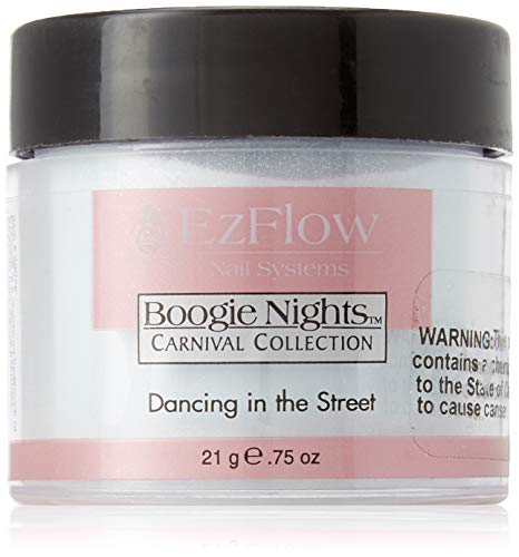 EZ Flow Carnival Glitter False Nails, Dancing in The Street, 0.75 Ounce