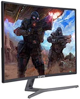 Sceptre C248B-144R 24-Inch Curved 144Hz Gaming Monitor AMD FreeSyncTM HDMI DisplayPort DVI, Metal Black 2018