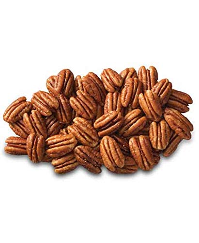 - SUNBEST Fancy Georgia Raw Shelled Pecans, Pecan Halves, JUMBO, Unsalted, No Shell in Resealable Bag ... (1 Lb)