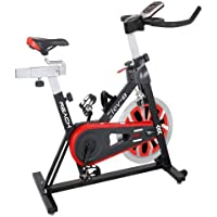 REACH Elev-8 | Best Spin Bike for Gym Workout | Perfect Fitness Spin Cycle for Exercise at Home | Best Indoor Spinning Bicycle with 18 Kg Flywheel| Easy On Knees