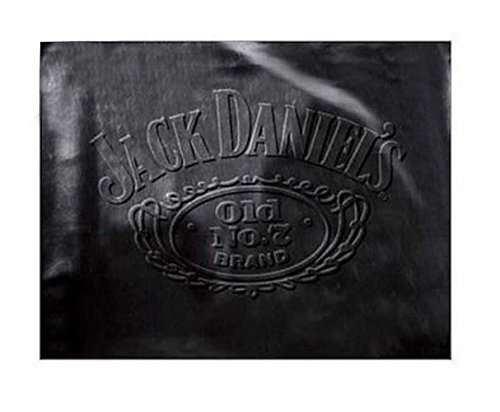 Billiard Bulldogs Table - Jack Daniel's Embossed Leatherette Billiard/Pool Table Cover - Black