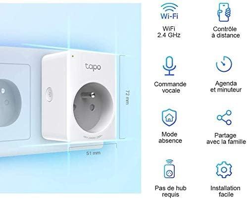Le top des meilleures prises intelligentes WiFi en 2021 - TP-LINK TAPO P100