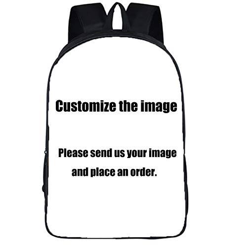 Customize the image British Style Backpack Women Men Travel Bags Anime Children School Bags Backpack Boys Girls Book Bag kids Gift Backpacks (Customize the image)